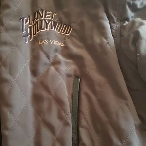 Planet Hollywood Jackets & Coats - Planet Hollywood LV Leather/Reversible Jacket